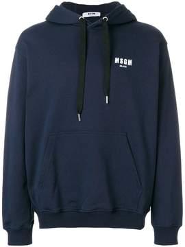 MSGM drawstring hoodie