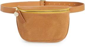 Clare Vivier Perforated Leather Supreme Fanny Pack