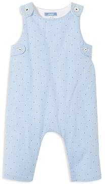 Jacadi Boys' Dotted Gingham Coverall - Baby