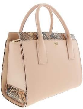 Roberto Cavalli Medium Handbag Lucille 002 Nude Satchel Bag.