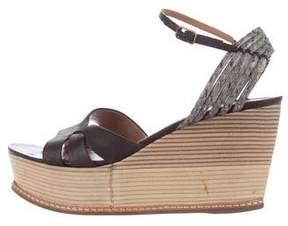 Derek Lam Platform Wedge Sandals