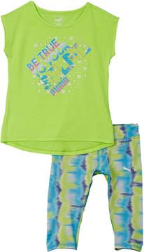 Puma Girls' 2Pc T-Shirt & Legging Set