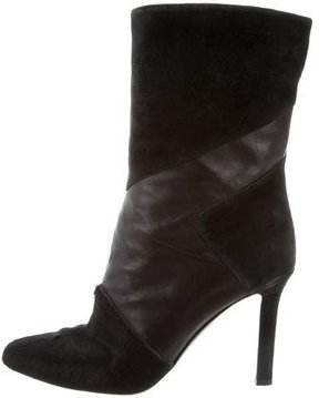 Tamara Mellon Pointed-Toe Ankle Boots