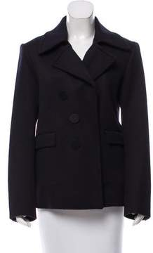 Celine Open-Front Wool Coat