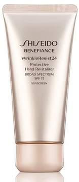 Shiseido Benefiance WrinkleResist24 Protective Hand Revitalizer SPF 15, 2.6 oz.