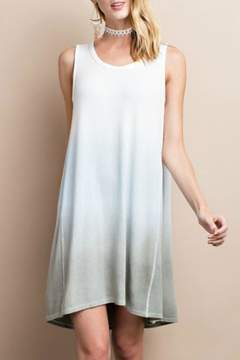 Easel Dip Dye Sleeveless Dress