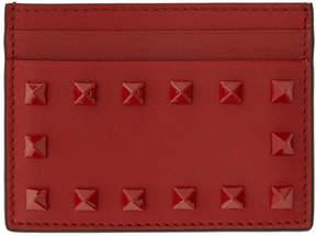 Valentino Red Garavani Tonal Rockstud Card Holder