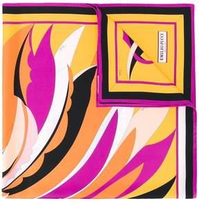 Emilio Pucci Fiore Maya print scarf