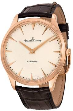 Jaeger-LeCoultre Jaeger Lecoultre Master Ultra Thin Automatic Rose Gold Men's Watch
