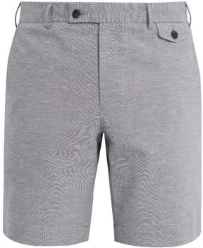 Boglioli Straight-leg cotton-blend shorts