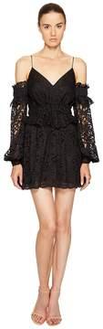 Francesco Scognamiglio Off Shoulder Strapless Lace Dress Women's Dress