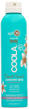 Coola Eco-Lux Body SPF 30 Tropical Coconut Sunscreen Spray.