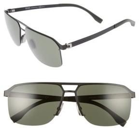 BOSS Men's 839/s 61Mm Sunglasses - Matte Black