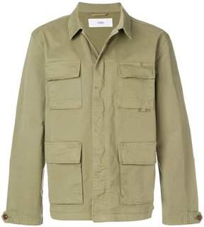 Closed cargo jacket