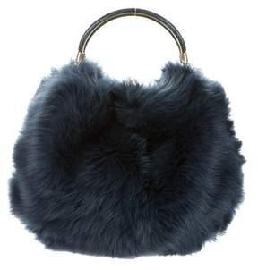 Ralph Lauren Shearling Bucket Bag