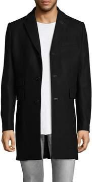 J. Lindeberg Men's Wolger Wool Top Coat