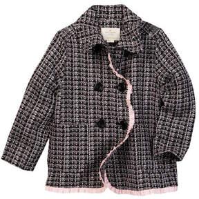 Kate Spade tweed coat (Toddler & Little Girls)