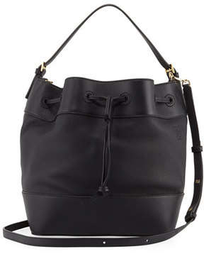Loewe Midnight Calf Leather Bucket Bag