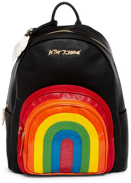 Betsey Johnson Rainbow Backpack
