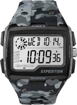 Timex Expedition Grid Shock TW4B03000 Grey Camo Digital Unisex Watch