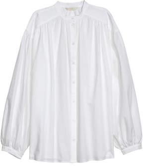 H&M Wide-cut Shirt - White