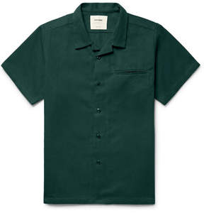 Noon Goons Slim-Fit Camp-Collar Cotton-Twill Shirt
