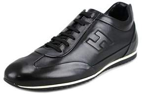 Hogan Light 160 Mod.cucito Rigir.h Riliev Round Toe Leather Sneakers.
