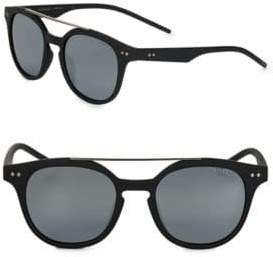 Polaroid 51MM Round Sunglasses