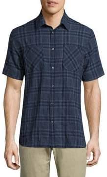 Billy Reid Clarence Plaid Shirt