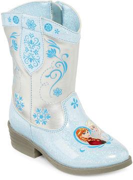 Disney Frozen Girls Cowboy Boots - Toddler