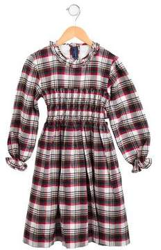 Papo d'Anjo Girls' Plaid Wool Dress w/ Tags