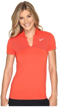 Nike Golf - Zonal Cooling Dri-Fit Knit Polo Women's Short Sleeve Pullover