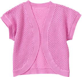Gymboree Warm Lavender Cocoon Open Cardigan - Infant & Toddler