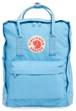 Fjallraven 'Kanken' Water Resistant Backpack - Blue
