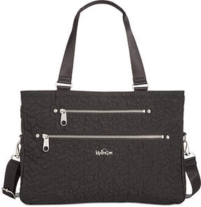 Kipling Juliana Quilted Large Tote - BLACK - STYLE