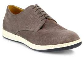 Giorgio Armani Perforated Suede Derby Shoes