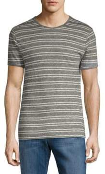 J. Lindeberg Short-Sleeve Striped Tee