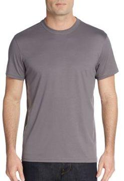 Saks Fifth Avenue BLACK Slim-Fit Cotton Pique Polo Shirt