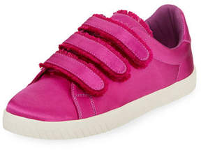 Tretorn Carry Satin Triple Grip-Strap Low-Top Sneakers