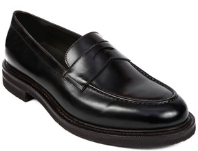 Brunello Cucinelli Leather Penny Loafer