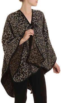 Steve Madden Women's Leopard Ruana