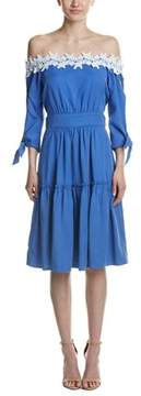 Adelyn Rae Off-the-shoulder Midi Dress.