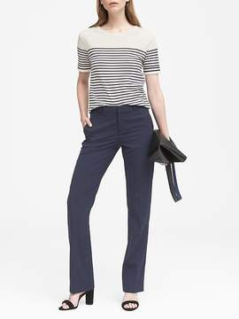 Banana Republic Logan Trouser-Fit Machine-Washable Italian Wool Blend Pant