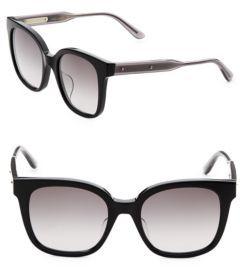 Bottega Veneta 52MM Wayfarer Sunglasses