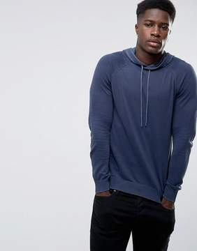 Benetton Knitted Hoodie
