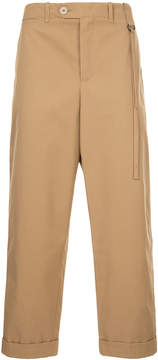 Craig Green cropped straight leg trousers
