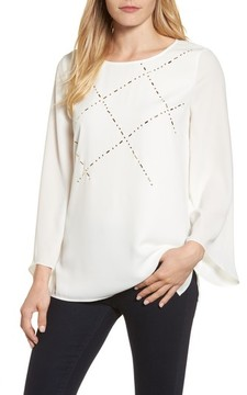 Chaus Women's Studded Blouse