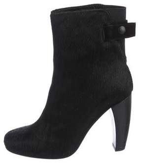 Tibi Ponyhair Ankle Boots