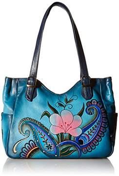 Anuschka Anna by Women's Genuine Leather Shoulder Bag | Hand-Painted Original Artwork |
