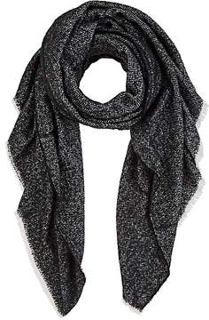 Barneys New York WOMEN'S CHEVRON-KNIT BLANKET SCARF